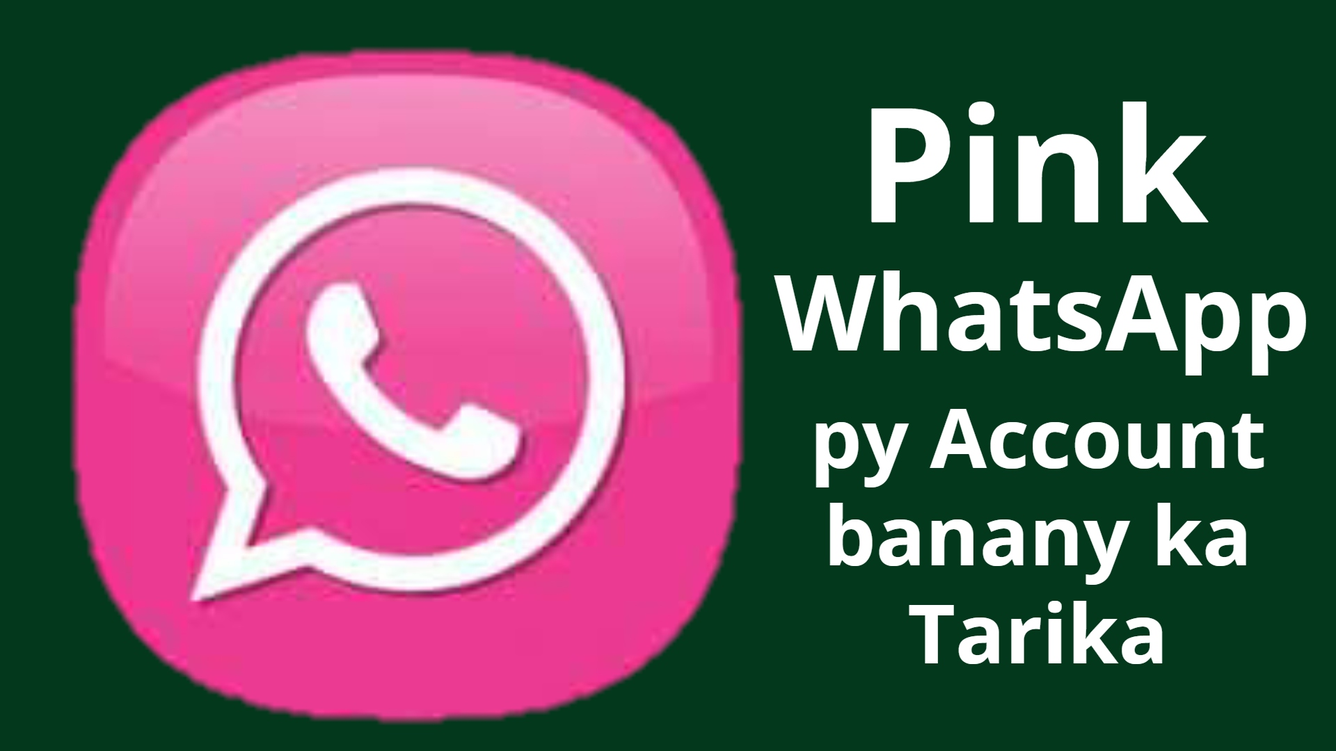 Pink Whatsapp Plus Latest New Mod Feature Apk Download Gull Ji